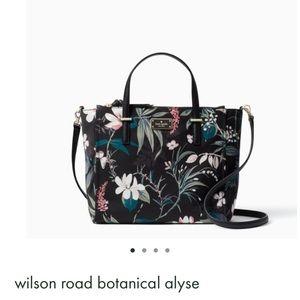 NWT Kate Spade Wilson Botanical Purse & Wallet Set